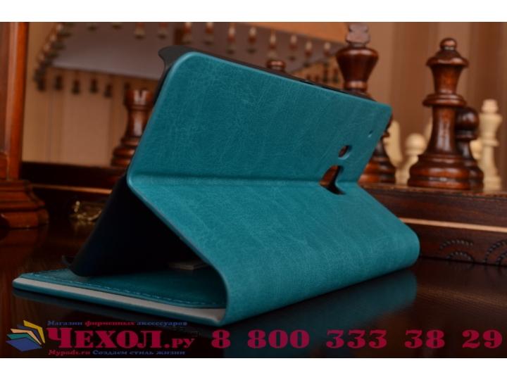 Фирменный чехол-книжка из качественной импортной кожи с подставкой и визитницей для HTC One M9/ M9 Prime Camer..