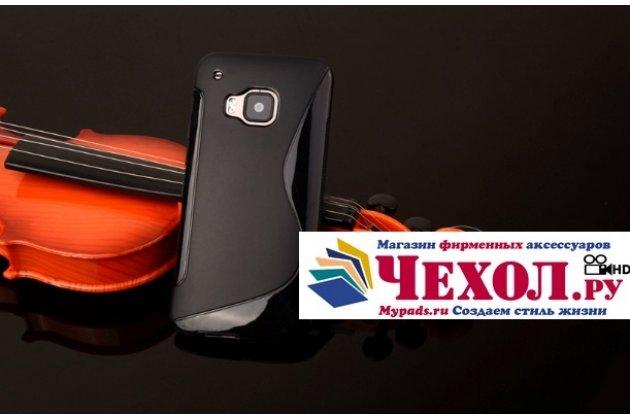 Фирменная ультра-тонкая полимерная из мягкого качественного силикона задняя панель-чехол-накладка для HTC One M9/ M9s/M9 Prime Camera Edition черная