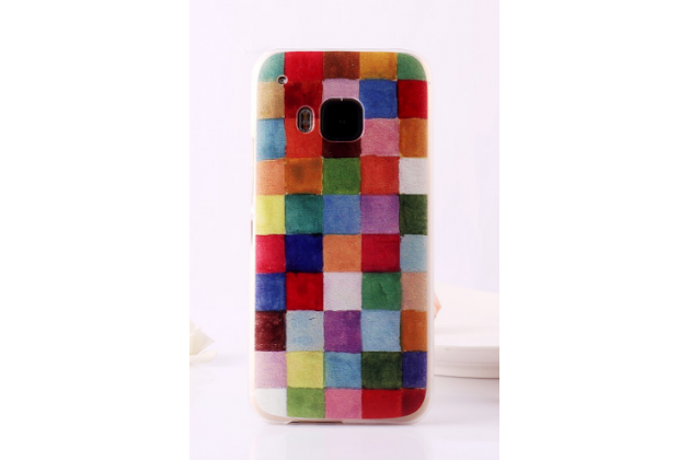 """Фирменная необычная уникальная пластиковая задняя панель-чехол-накладка для HTC One M9/ M9s/ M9 Prime Camera Edition """"тематика Краски"""""""