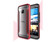 Фирменный чехол-бампер для HTC One M9/ M9s/ M9 Prime Camera Edition красный прорезиненный..