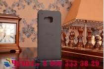 Фирменный оригинальный умный чехол Dot View flip case для HTC One M9/ M9s/M9 Prime Camera Edition черный