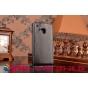 Фирменный оригинальный вертикальный откидной чехол-флип для HTC One M9/ M9s/M9 Prime Camera Edition черный кожаный