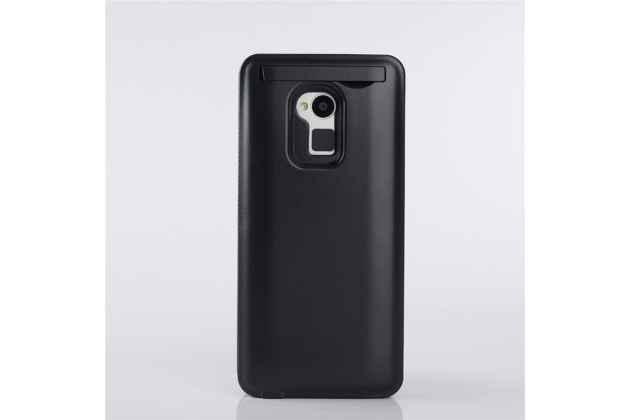 Чехол-бампер со встроенной усиленной мощной батарей-аккумулятором большой повышенной расширенной ёмкости 4200mah для HTC One Max T6 (803s) черный + гарантия