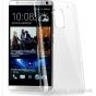 Фирменная ультра-тонкая пластиковая задняя панель-чехол-накладка для HTC One Max T6 (803s) прозрачная..