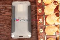 Чехол-книжка для HTC One Max черный кожаный