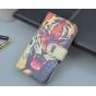 Фирменный уникальный необычный чехол-подставка с визитницей кармашком на HTC One Mini