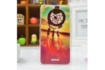"""Фирменная необычная уникальная пластиковая задняя панель-чехол-накладка для HTC Desire 516 """"тематика закат"""""""