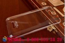 Фирменная ультра-тонкая пластиковая задняя панель-чехол-накладка для HTC Desire 616 Dual sim прозрачная