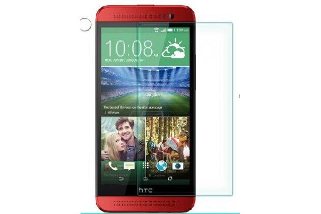 Фирменная оригинальная защитная пленка для телефона HTC One E8 глянцевая