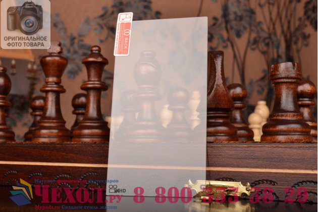 Фирменное защитное закалённое противоударное стекло премиум-класса из качественного японского материала с олеофобным покрытием для HTC One mini 2