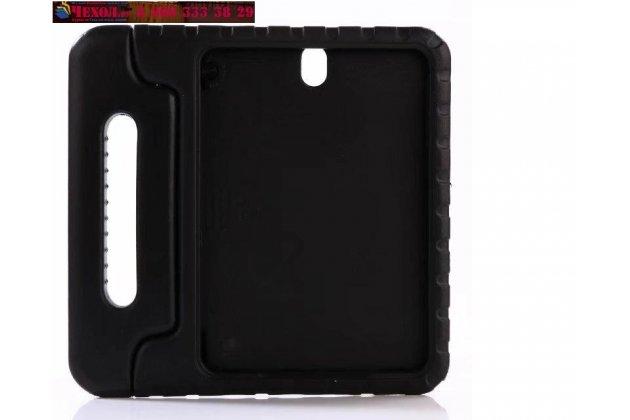 Противоударный усиленный ударопрочный фирменный чехол-бампер-пенал для Samsung Galaxy Tab S3 9.7 SM-T820/T825 черный