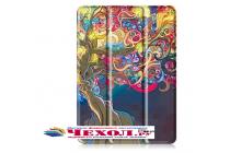 """Фирменный уникальный необычный чехол-книжка для Samsung Galaxy Tab S3 9.7 SM-T820/T825 """"Волшебное дерево """""""
