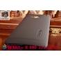 Фирменная задняя панель-крышка-накладка из тончайшего и прочного пластика для HTC One M7 Dual Sim (801s) черна..
