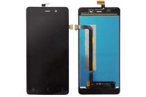 """Фирменный LCD-ЖК-сенсорный дисплей-экран-стекло с тачскрином на телефон Highscreen Power Four"""" черный + гарантия"""
