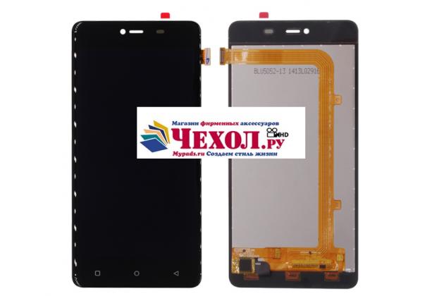 """Фирменный LCD-ЖК-сенсорный дисплей-экран-стекло с тачскрином на телефон Highscreen Power Rage"""" черный + гарантия"""