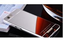 """Фирменная металлическая задняя панель-крышка-накладка из тончайшего облегченного авиационного алюминия для Highscreen Tasty""""  серебристая"""