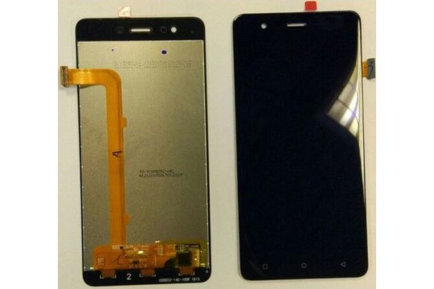 """Фирменный LCD-ЖК-сенсорный дисплей-экран-стекло с тачскрином на телефон Highscreen Tasty"""" черный + гарантия"""