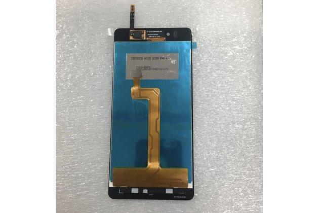 """Фирменный LCD-ЖК-сенсорный дисплей-экран-стекло с тачскрином на телефон Highscreen ICE 2 4.7"""" черный + гарантия"""