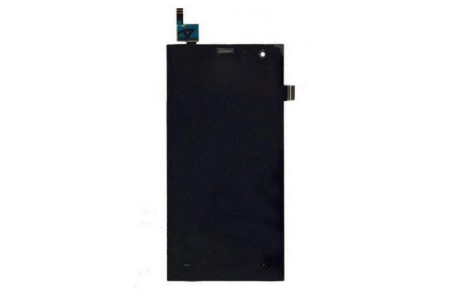 """Фирменный LCD-ЖК-сенсорный дисплей-экран-стекло с тачскрином на телефон Highscreen Zera S (rev.S) 4.5"""" черный + гарантия"""
