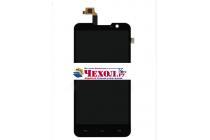 """Фирменный LCD-ЖК-сенсорный дисплей-экран-стекло с тачскрином на телефон Highscreen Alpha R"""" черный"""