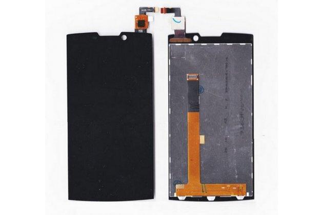 """Фирменный LCD-ЖК-сенсорный дисплей-экран-стекло с тачскрином на телефон Highscreen Boost 2 / Boost 2 SE 5.0"""" черный + гарантия"""