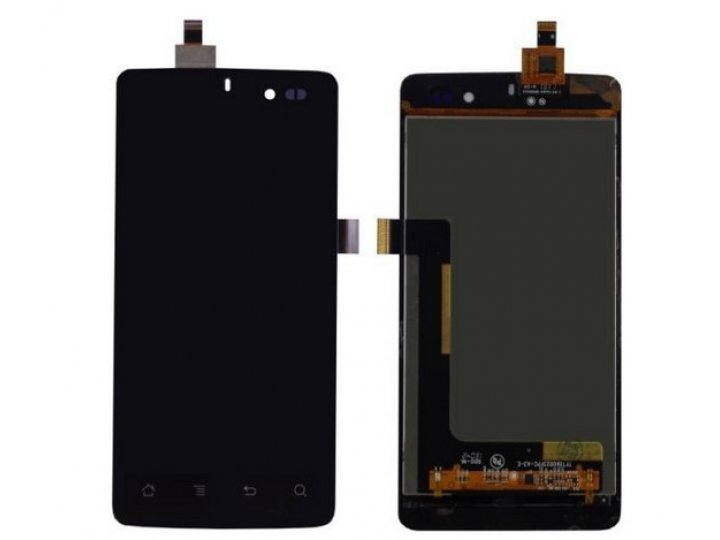 Фирменный LCD-ЖК-сенсорный дисплей-экран-стекло с тачскрином на телефон Highscreen Omega Q 4.5