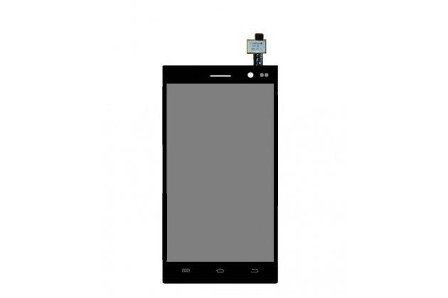 """Фирменный LCD-ЖК-сенсорный дисплей-экран-стекло с тачскрином на телефон Highscreen Zera F (rev.S) 4.0"""" черный + гарантия"""