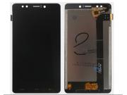 Фирменный LCD-ЖК-сенсорный дисплей-экран-стекло с тачскрином на телефон HomTom HT10 черный + гарантия..