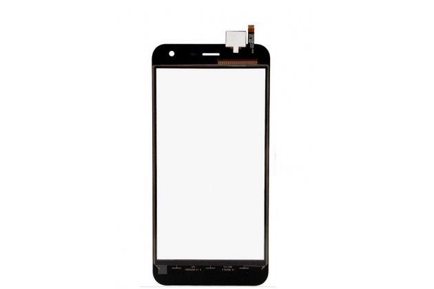 Фирменное сенсорное стекло-тачскрин на  HomTom HT3 Pro черный и инструменты для вскрытия + гарантия