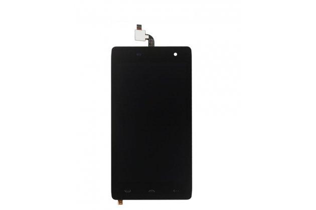 Фирменный LCD-ЖК-сенсорный дисплей-экран-стекло с тачскрином на телефон HomTom HT20 черный + гарантия