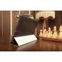 Ультра-тонкий фирменный чехол-обложка для Huawei Mediapad 10 FHD черный пластиковый..