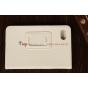 Чехол-обложка для Huawei Mediapad 7 Lite белый кожаный