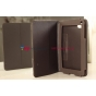 Чехол-обложка для Huawei Mediapad 7 Lite коричневый кожаный..