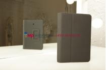 Чехол-обложка для Huawei Mediapad 7 (S7-301) черный кожаный