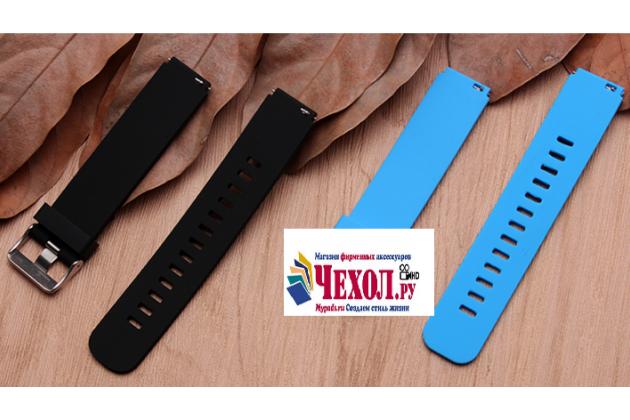 Фирменный необычный  сменный силиконовый ремешок для умных смарт-часов Huawei Watch Fit разноцветный