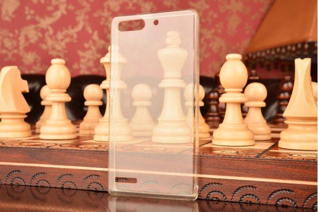 Фирменная ультра-тонкая полимерная из мягкого качественного силикона задняя панель-чехол-накладка для Huawei Ascend G6 белая