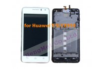 Фирменный LCD-ЖК-сенсорный дисплей-экран-стекло с тачскрином на телефон Huawei Ascend Honor Pro G600 (U8950) белый + гарантия