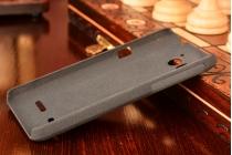 Фирменная задняя панель-крышка-накладка из тончайшего и прочного пластика для Huawei Ascend Honor Pro G600 (U8950) черная