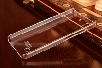 Фирменная ультра-тонкая пластиковая задняя панель-чехол-накладка для Huawei Ascend G620S прозрачная