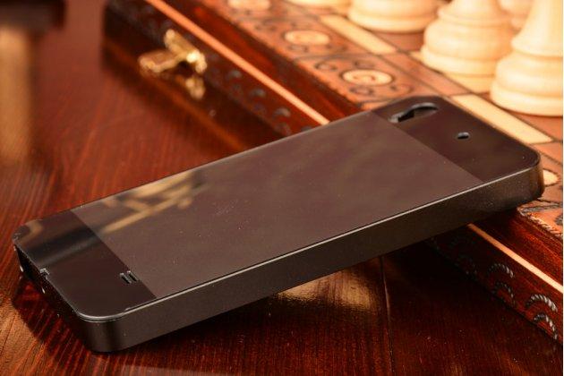 Фирменная металлическая задняя панель-крышка-накладка из тончайшего облегченного авиационного алюминия для Huawei Ascend G620S черная