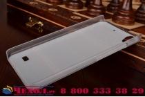 Фирменная роскошная задняя панель-чехол-накладка с безумно красивым расписным эклектичным узором на Huawei Ascend G620S