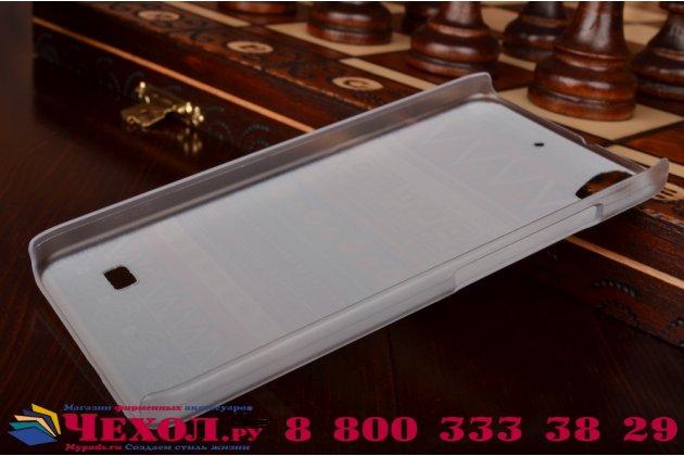 Фирменная роскошная задняя панель-чехол-накладка с безумно красивым расписным узором Арбуз на Huawei Ascend G620S