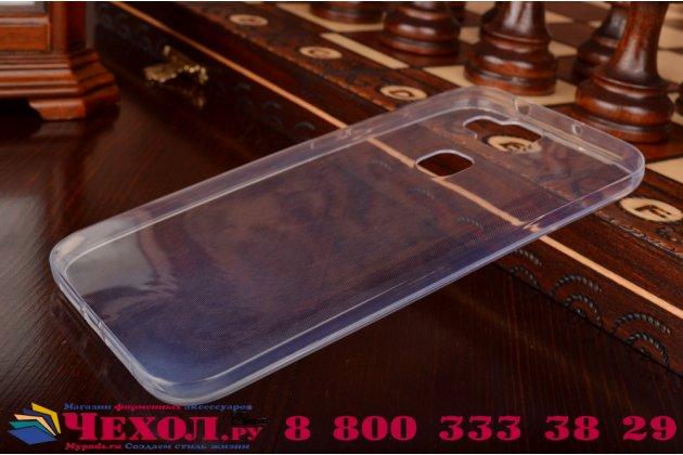 Фирменная ультра-тонкая полимерная из мягкого качественного силикона задняя панель-чехол-накладка для Huawei Ascend G8/G7 Plus/GX8 белая