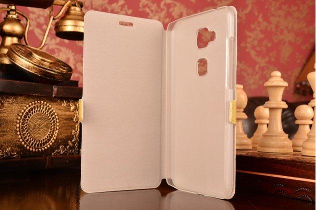 """Фирменный уникальный необычный чехол-книжка для Huawei Ascend G8/G7 Plus/GX8 """"тематика все цвета радуги"""""""