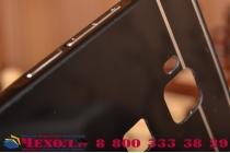 Фирменная металлическая задняя панель-крышка-накладка из тончайшего облегченного авиационного алюминия для Huawei Ascend G8/G7 Plus/GX8 черная
