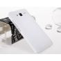 Фирменная задняя панель-крышка-накладка из тончайшего и прочного пластика для Huawei Ascend GX1 белая..