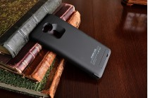 Чехол-бампер со встроенной усиленной мощной батарей-аккумулятором большой повышенной расширенной ёмкости 6800 mAh для Huawei Ascend Mate 7 (MT7-TL10/CL00) черный + гарантия