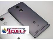 Родная оригинальная задняя крышка-панель которая шла в комплекте для Huawei Ascend Mate 7 (MT7-TL10/CL00) черн..