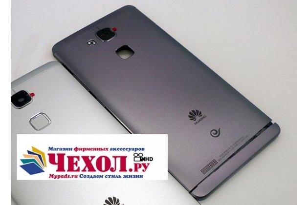 Родная оригинальная задняя крышка-панель которая шла в комплекте для Huawei Ascend Mate 7 (MT7-TL10/CL00) черная