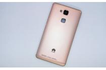 Родная оригинальная задняя крышка-панель которая шла в комплекте для Huawei Ascend Mate 7 (MT7-TL10/CL00) золотая